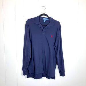 Polo by Ralph Lauren Long Sleeve Polo Sz M